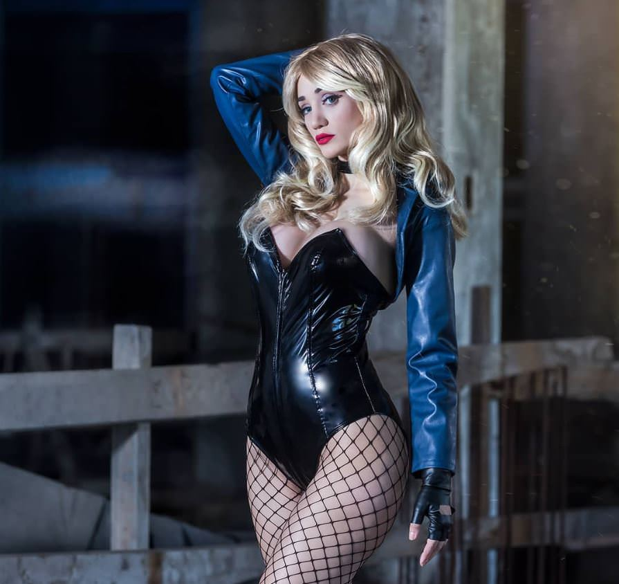 Black Canary From DC Comics By Sophie Valentine