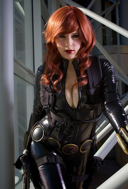 Black Widow Cosplay By Alexia Jean Grey