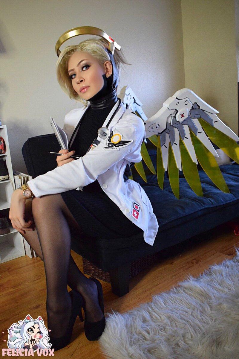 Doctor Ziegler Cosplay From Overwatch – By Felicia Vox