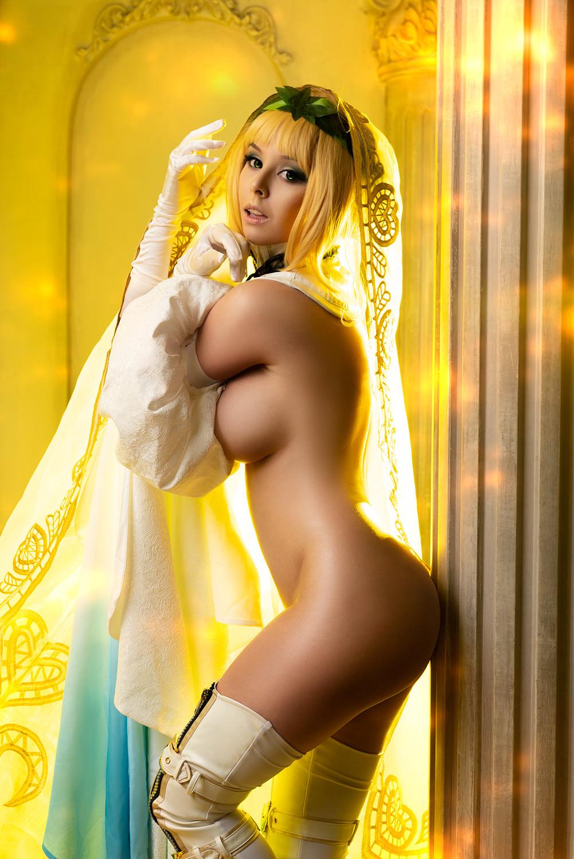 Erocosplay Saber Nero Bride By Disharmonica