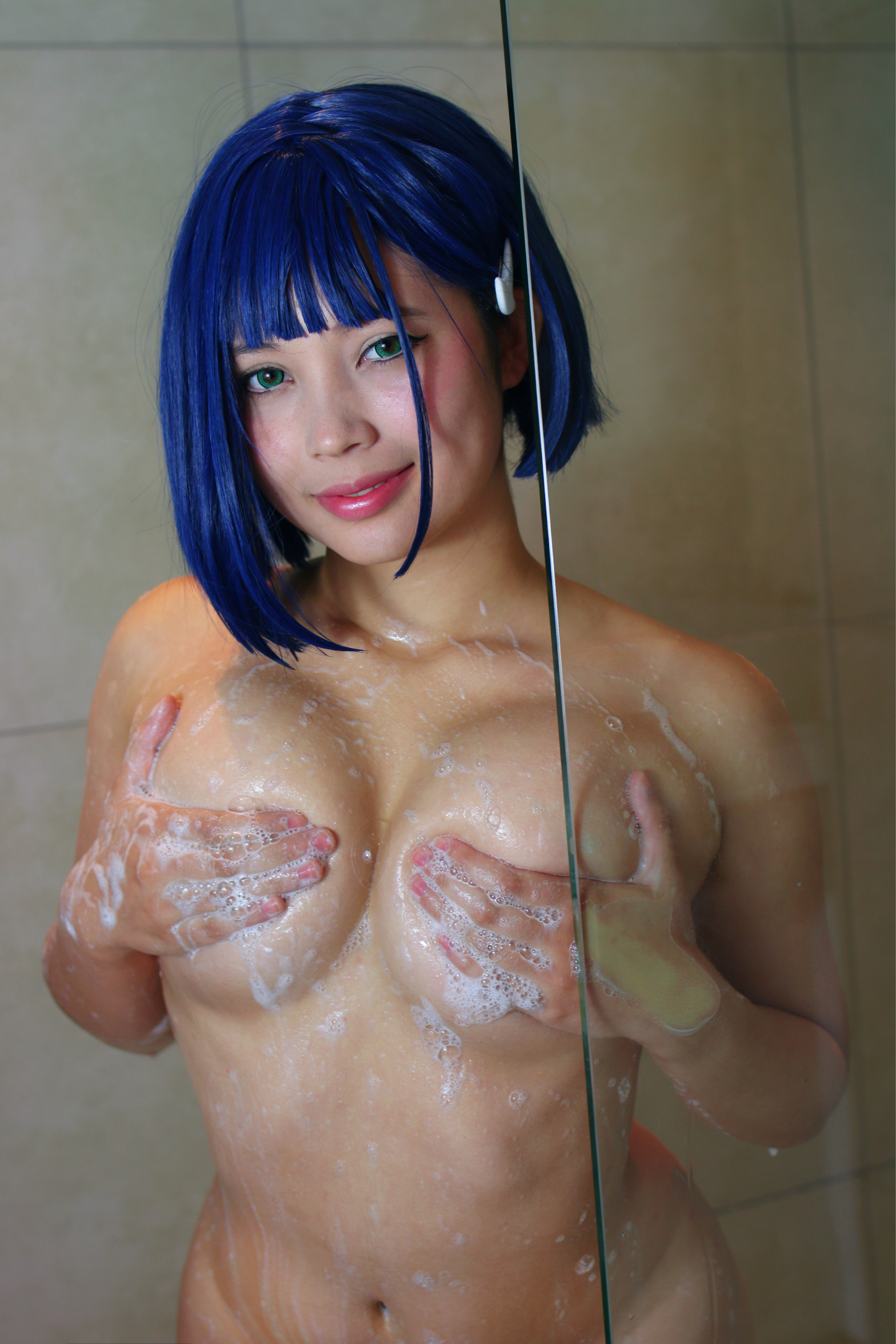 Ichigo Taking A Shower ;)