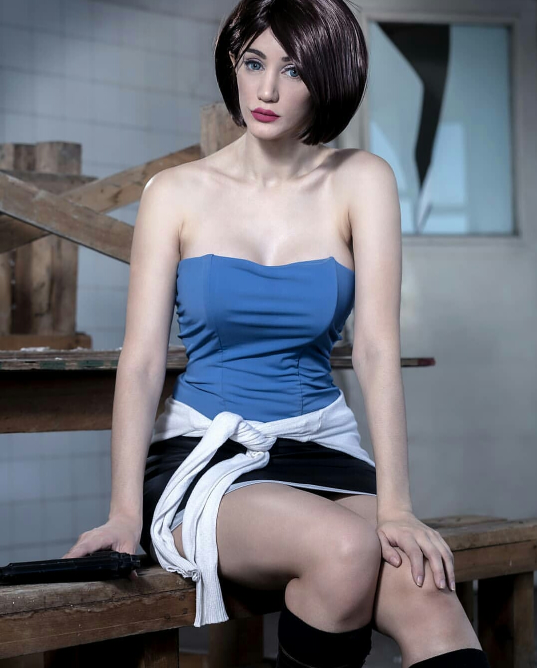 Jill Valentine From The Resident Evil Series By Sophie Valentine