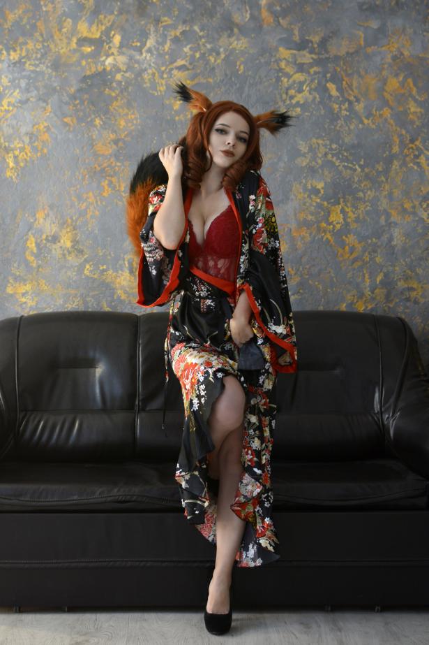 Kitsune ~ By Evenink_cosplay