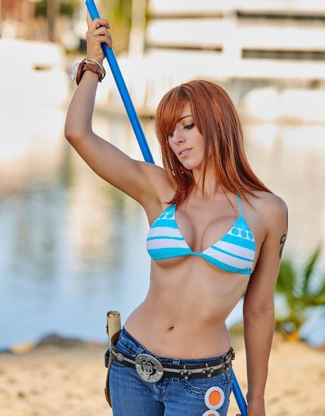 Nami From One Piece By Elizabeth Rage