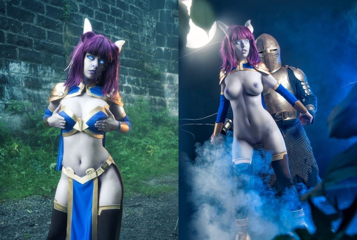 Nude Monara Cosplay From World Of Warcraft By Dis-har-mo-nica