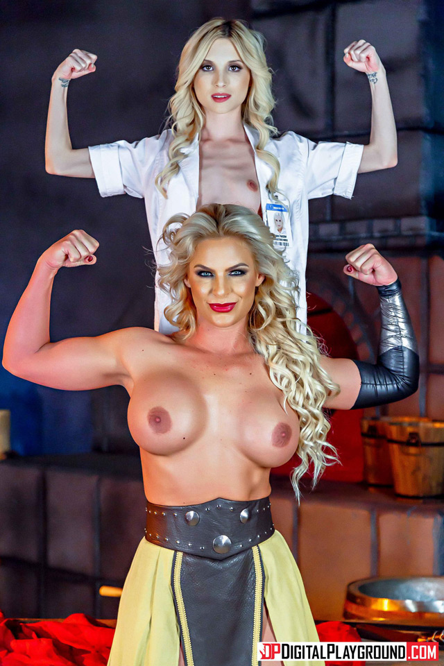 Phoenix Marie And Piper Perri As Thor And Jane Foster