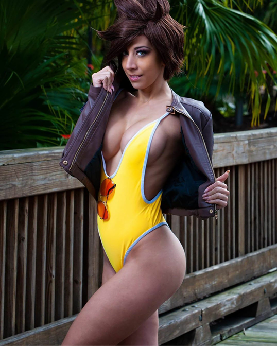 Swimsuit Tracer By Cindrella Cosplay