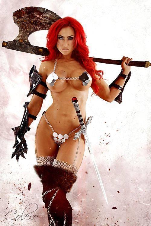 Miranda Lee Morgalo As Red Sonja