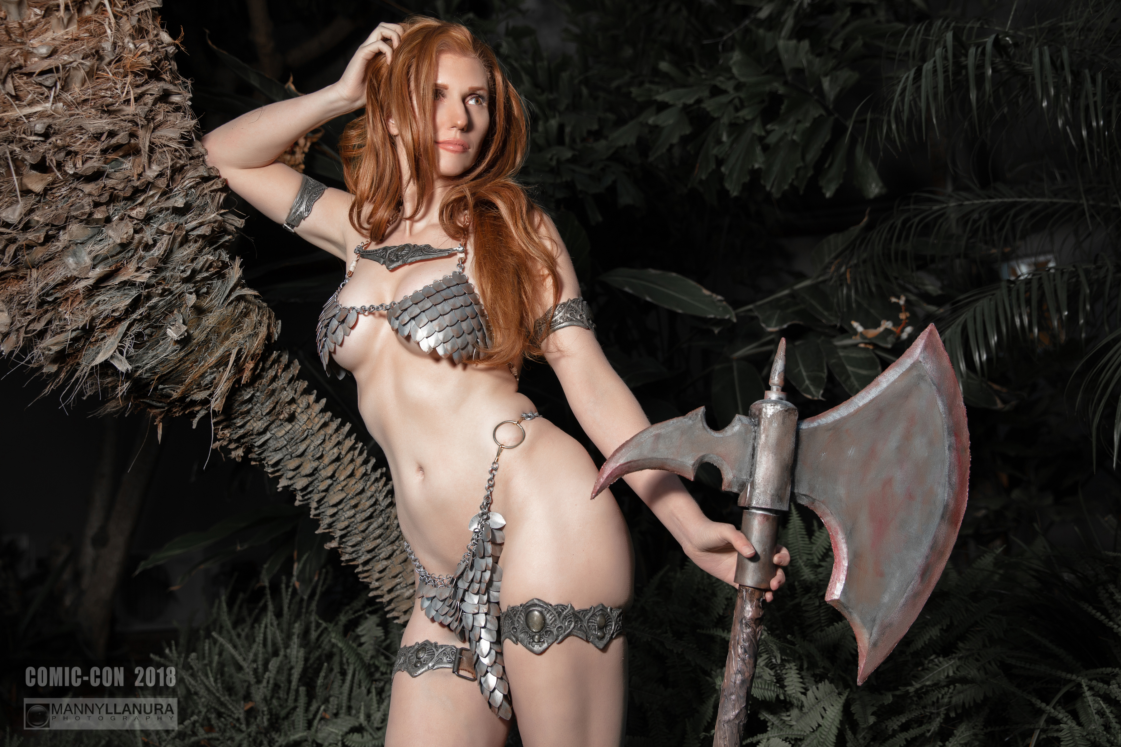 Red Sonja Cosplay By Jacqueline Goehner