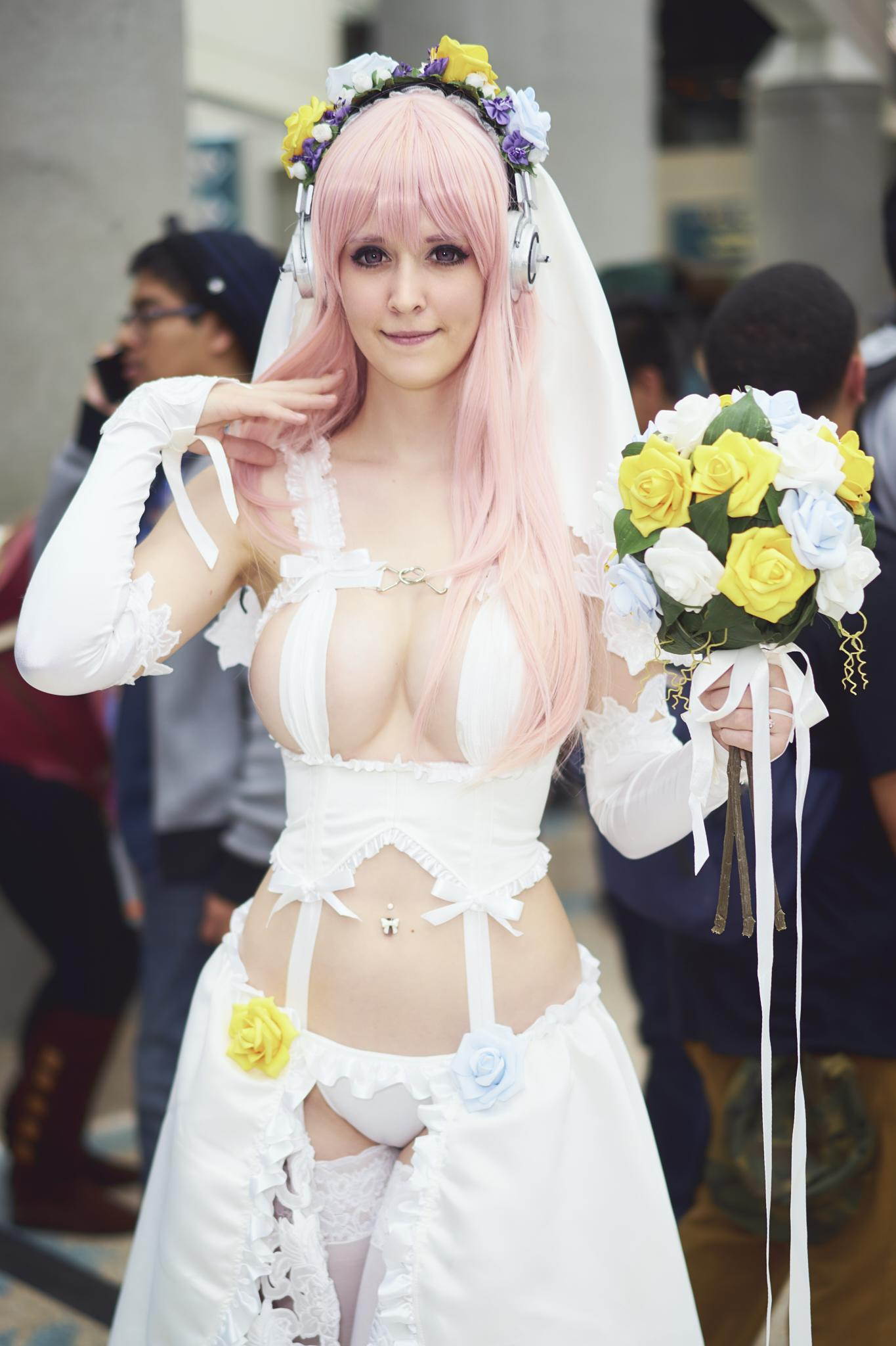 Wedding Sonico By Qkicosplay