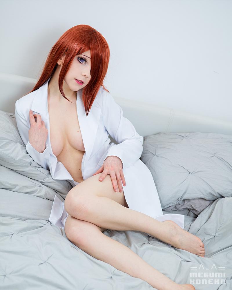 Care To Share A Dr. Pepper With Me? ~ Makise Kurisu Cosplay By Megumi Koneko