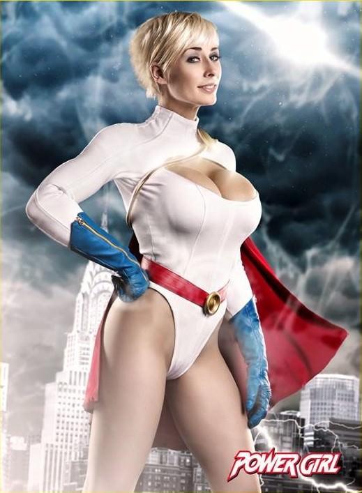 Marie-Claude Bourbonnais As Power Girl