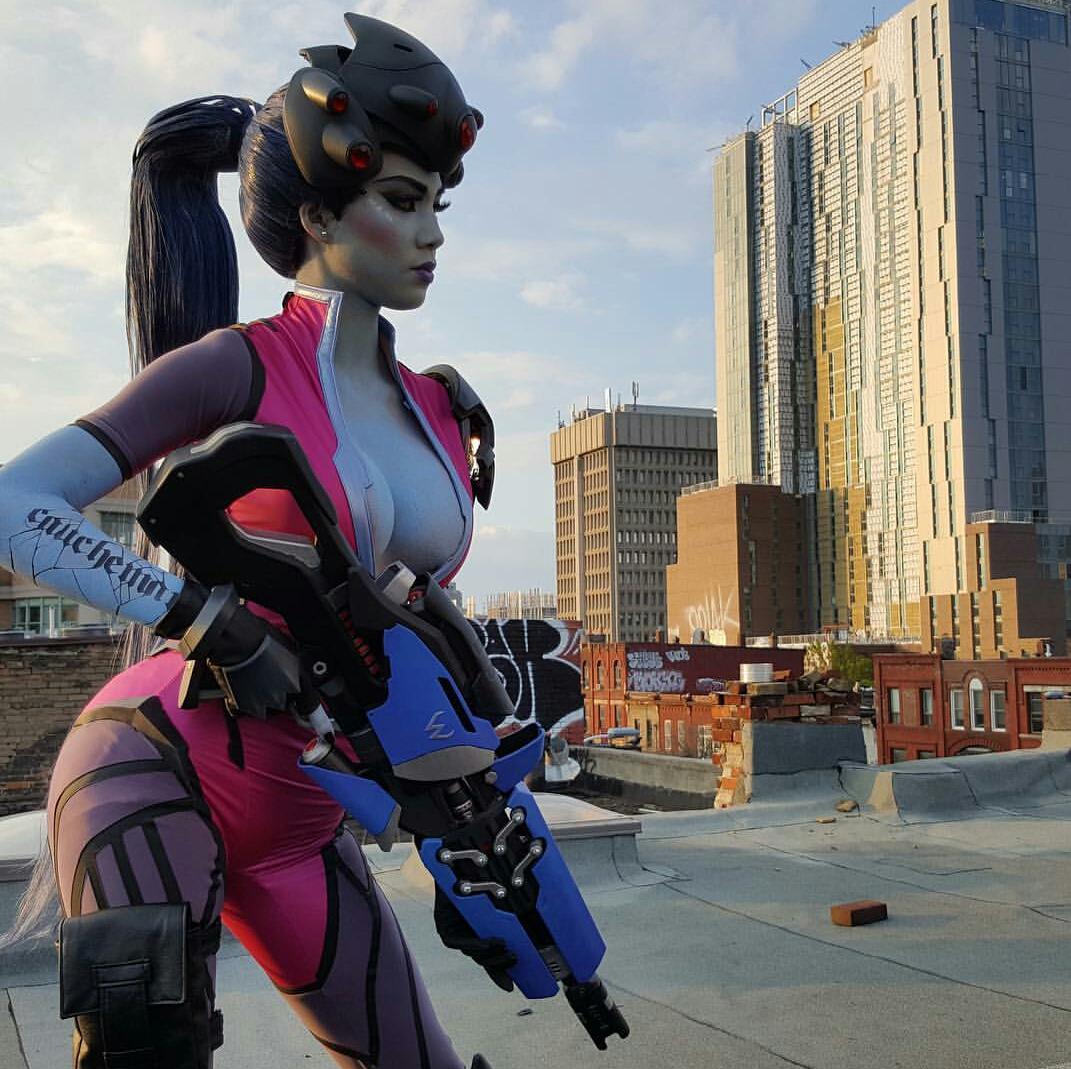 Widowmaker From Overwatch By Lady Nikoru