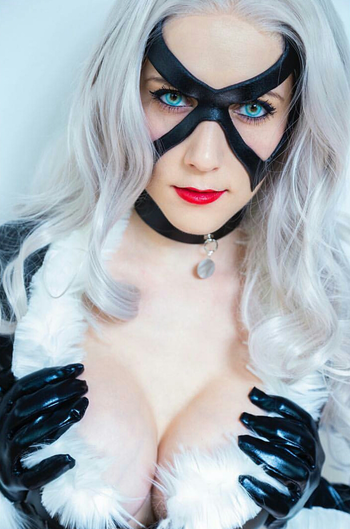 Black Cat From Marvel Comics By Regina Scarlett