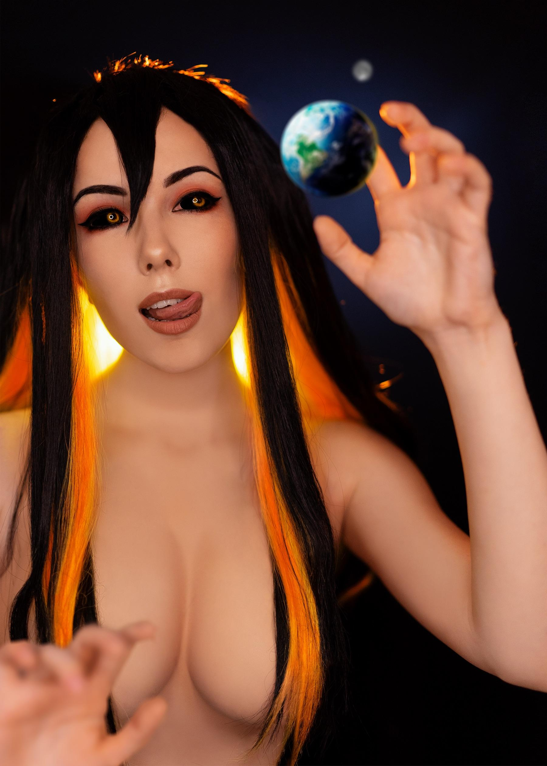 Helen Stifler As Black Hole-chan