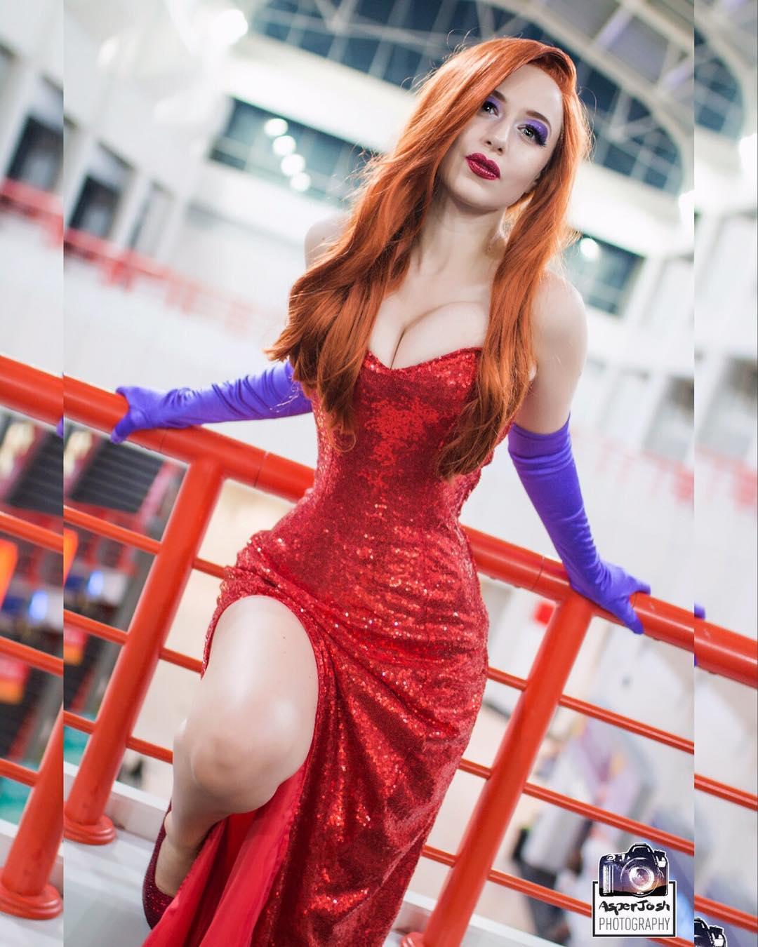 Jessica Rabbit Cosplay By DropDeadJokerCosplay