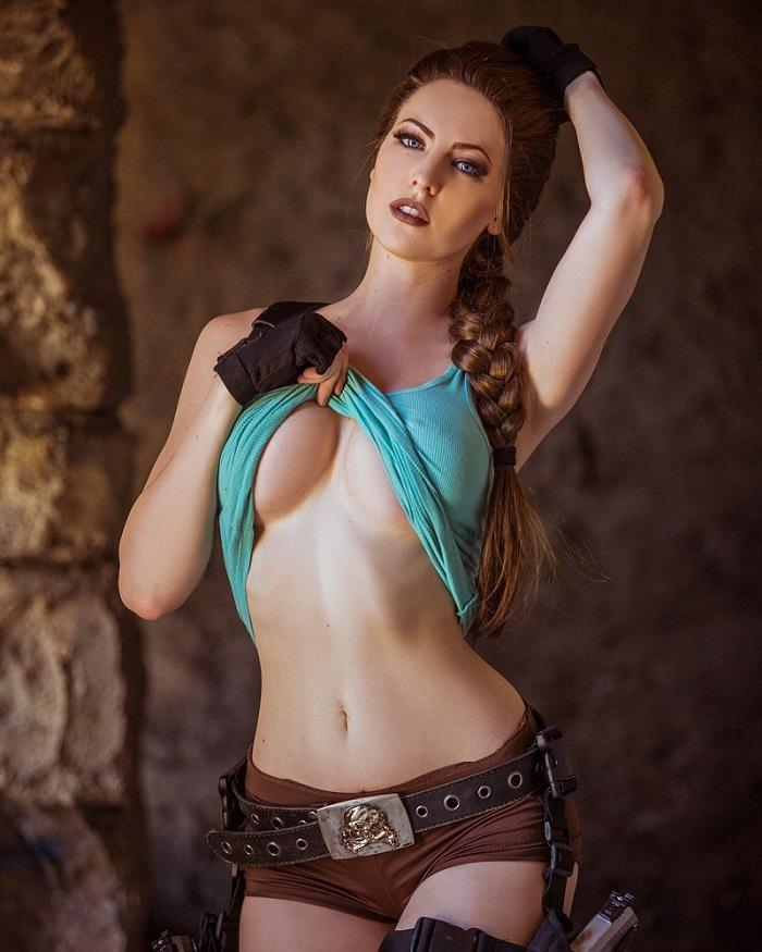 Maidofmight As Lara Croft