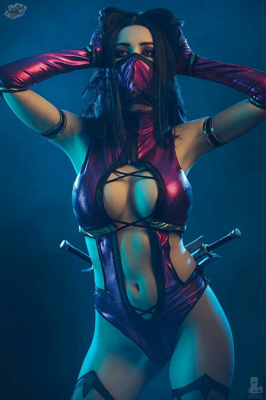 Mileena From Mortal Kombat By Kristen Lanae Cosplay