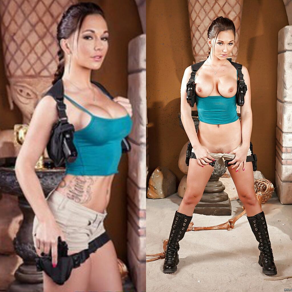 NSFW Lara Croft By Destiny Dixon