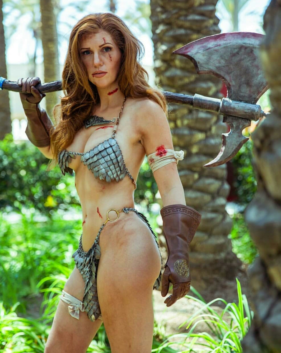 Red Sonja By Jacqueline Goehner