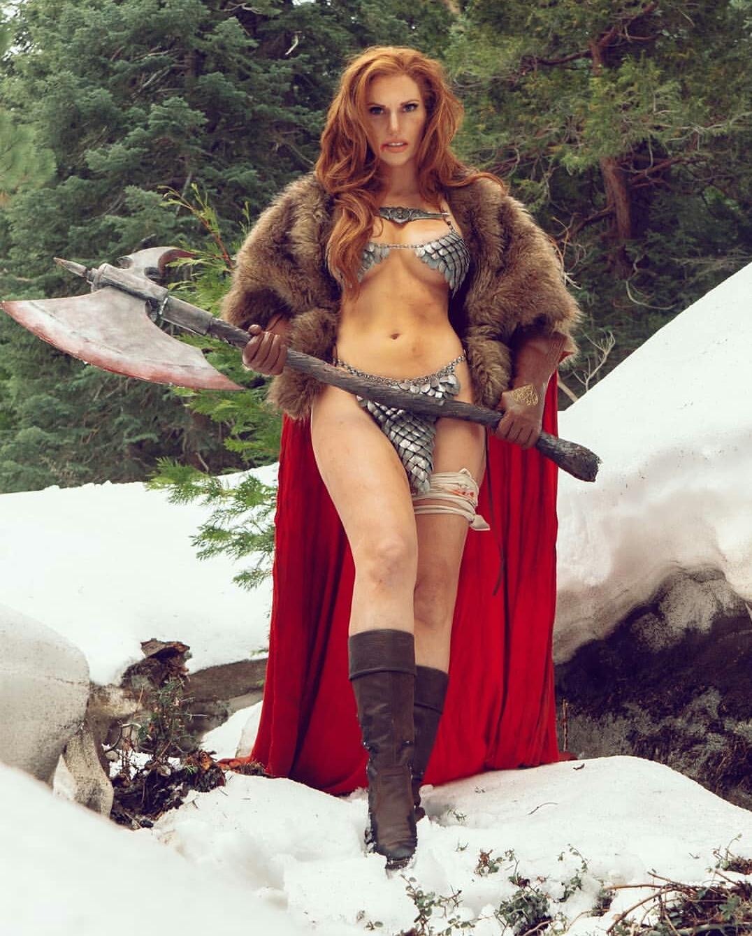 Red Sonja By Jacqueline Goehner