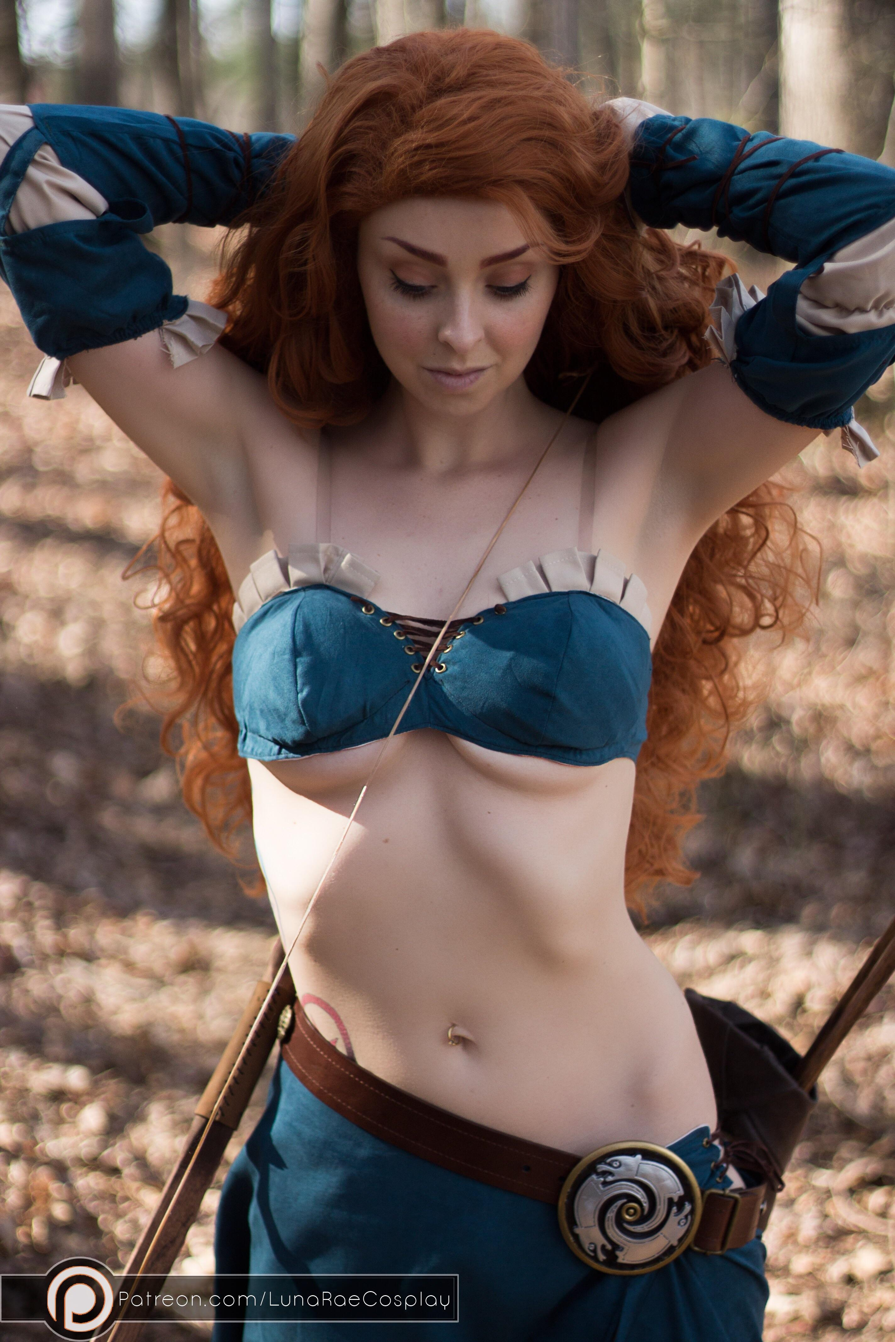 Rule 34 Merida By Lunaraecosplay