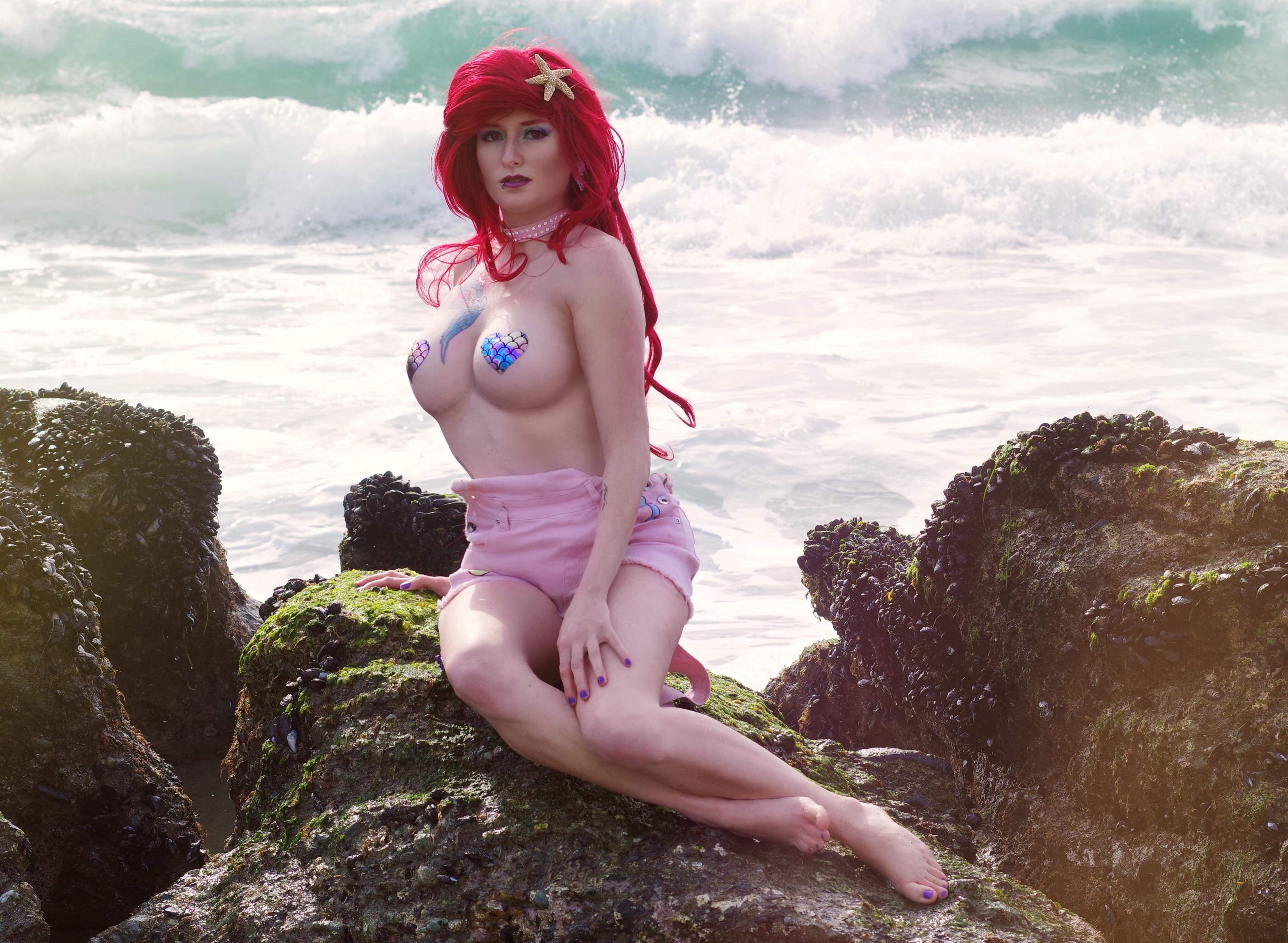 Ariel From The Little Mermaid – I Took This Picture At Laguna Beach In California