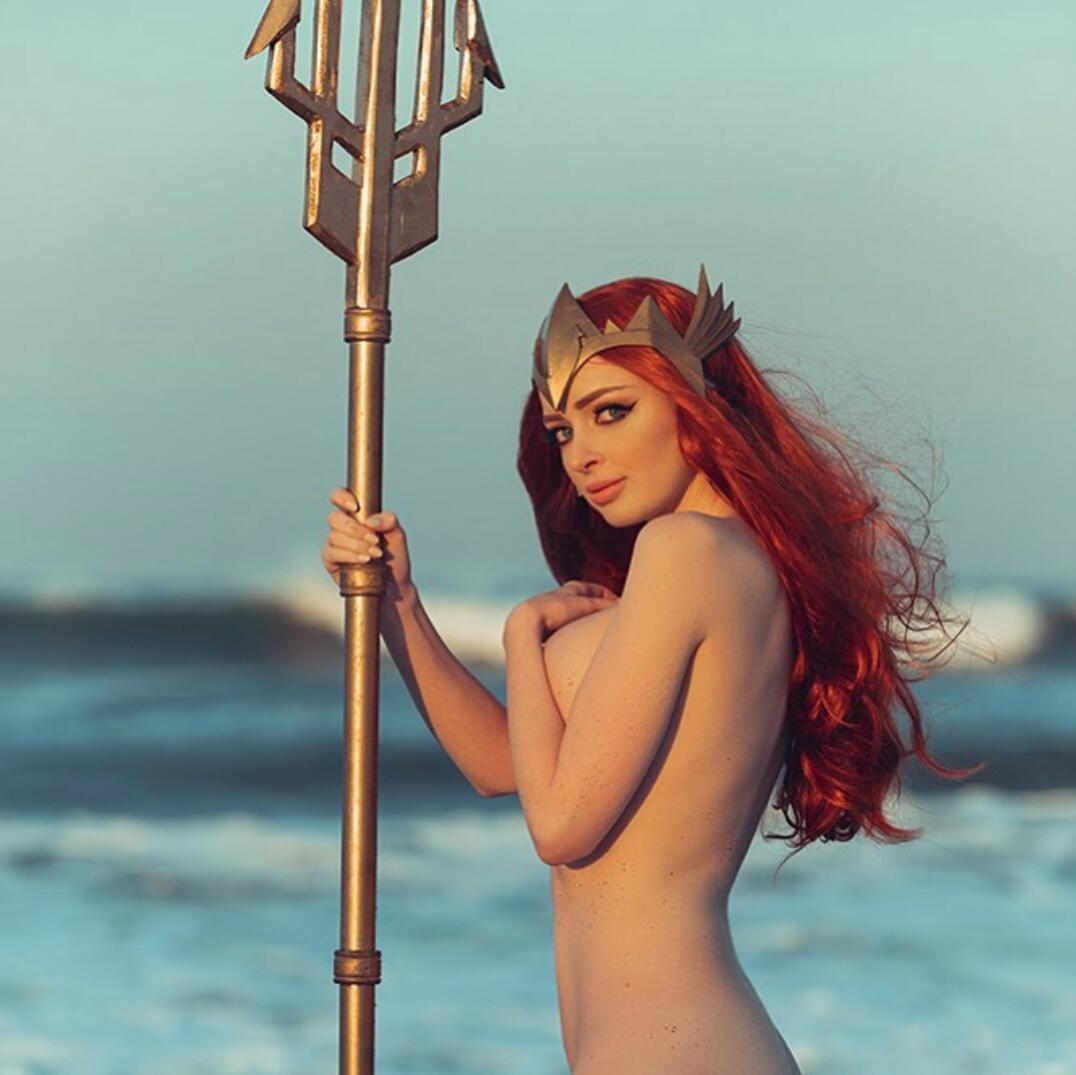 Mera, Queen Of Atlantis Lewd Theme By Kristen Lanae