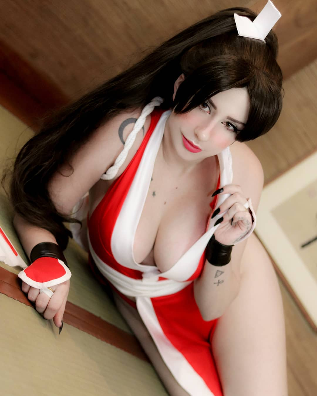 Mai Shiranui From King Of Fighters By Giu Hellsing