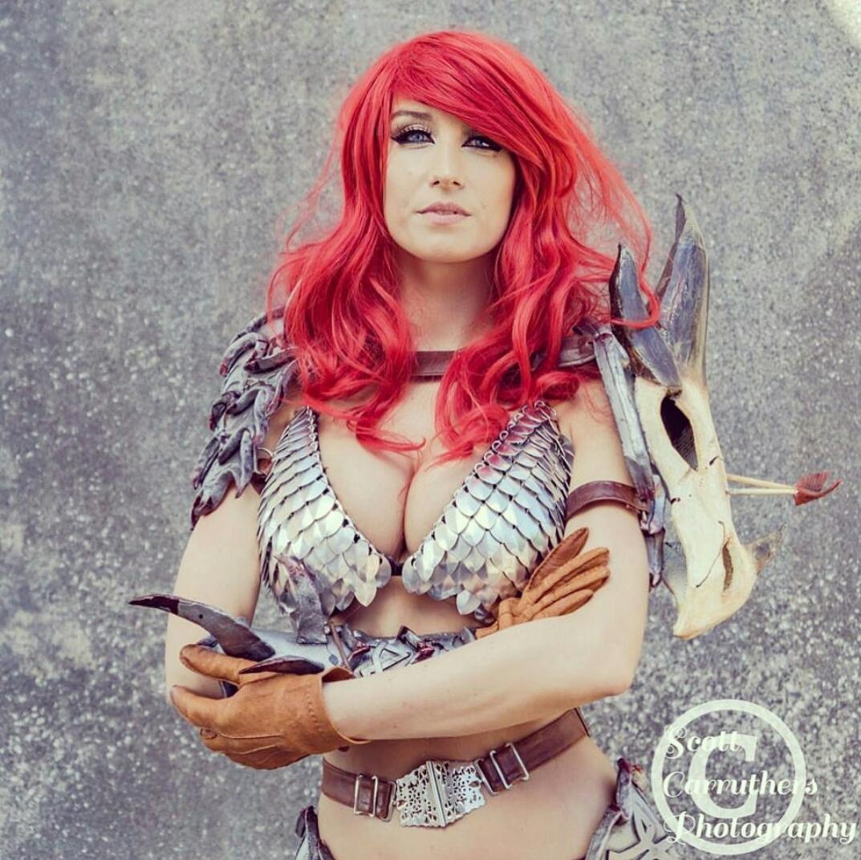 Red Sonja By Beaupeep Cosplay