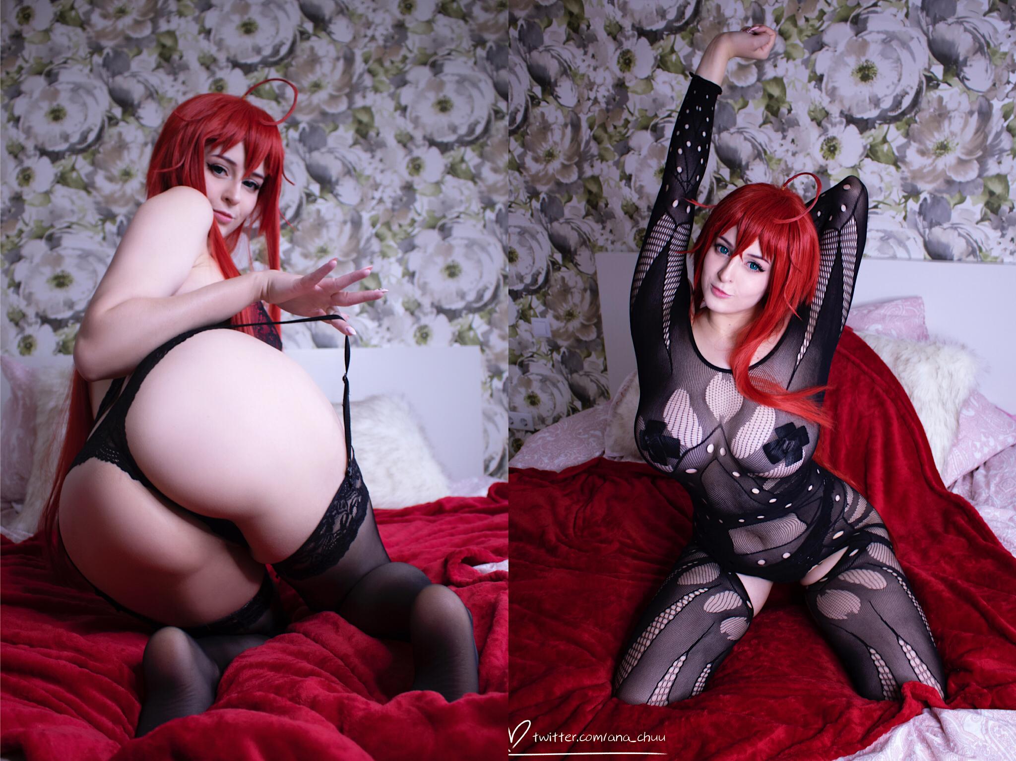 Rias Trying To Show You Her Naughtiest Side😈 Erocosplay By Ana Chuu