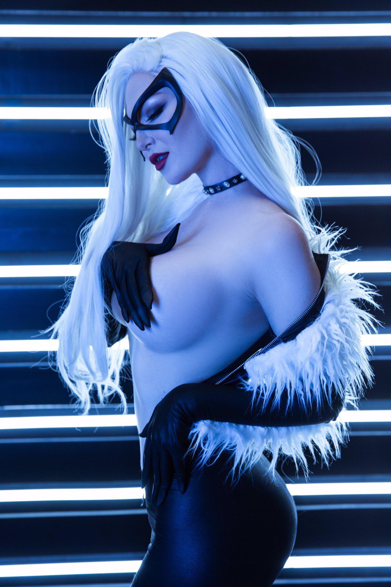 Ashlynne Dae As Black Cat