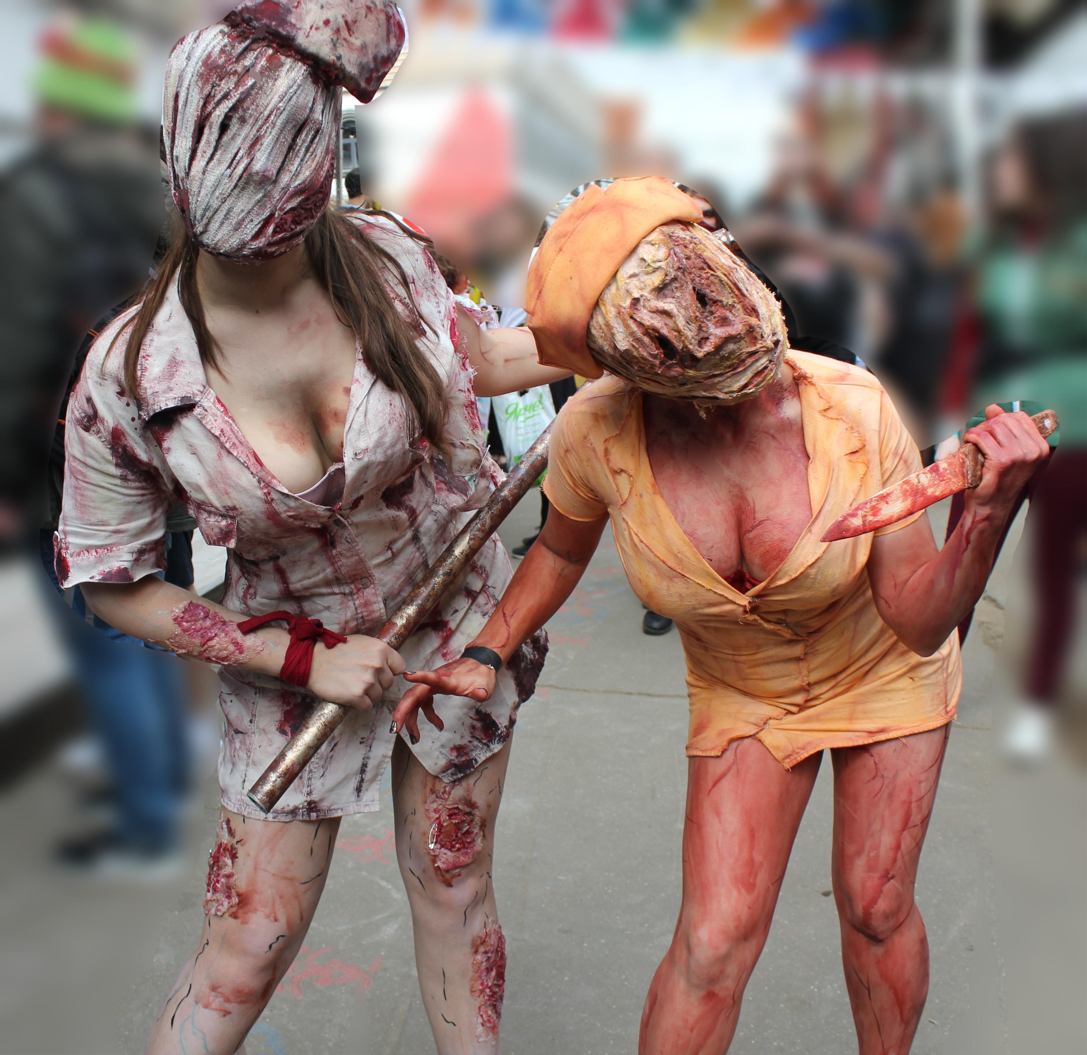 Chloride & MarinaSherbet As Silent Hill Nurses