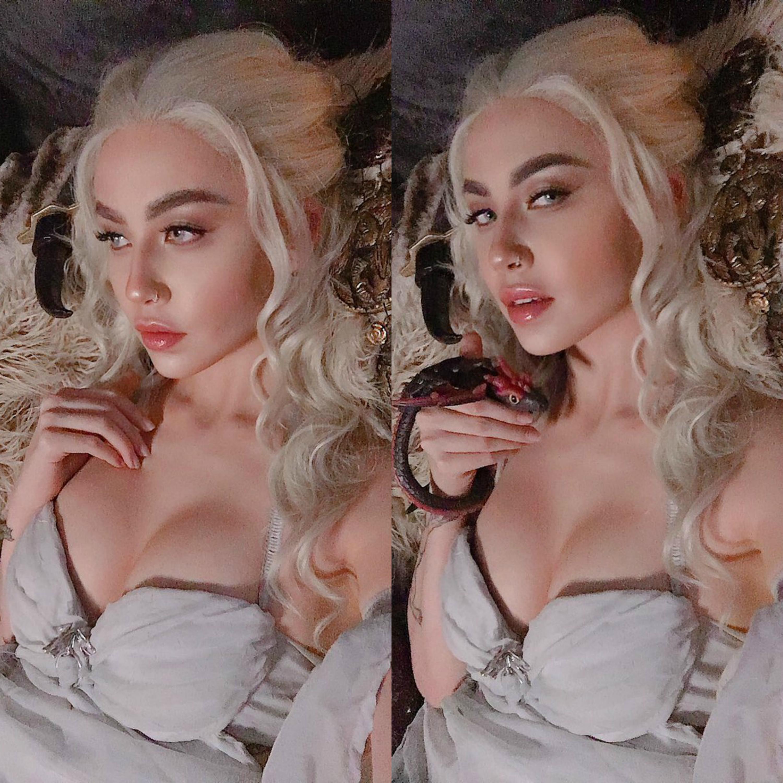 Daenerys Targaryen Wedding Dress Cosplay From Game Of Thrones ?? – By Felicia Vox
