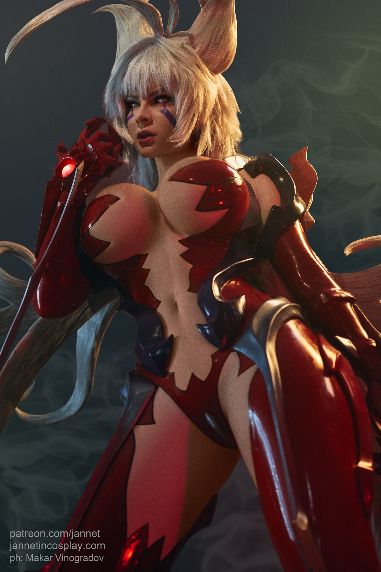 Jannet Vinogradova As Masane Amaha In Upgraded Witchblade Form
