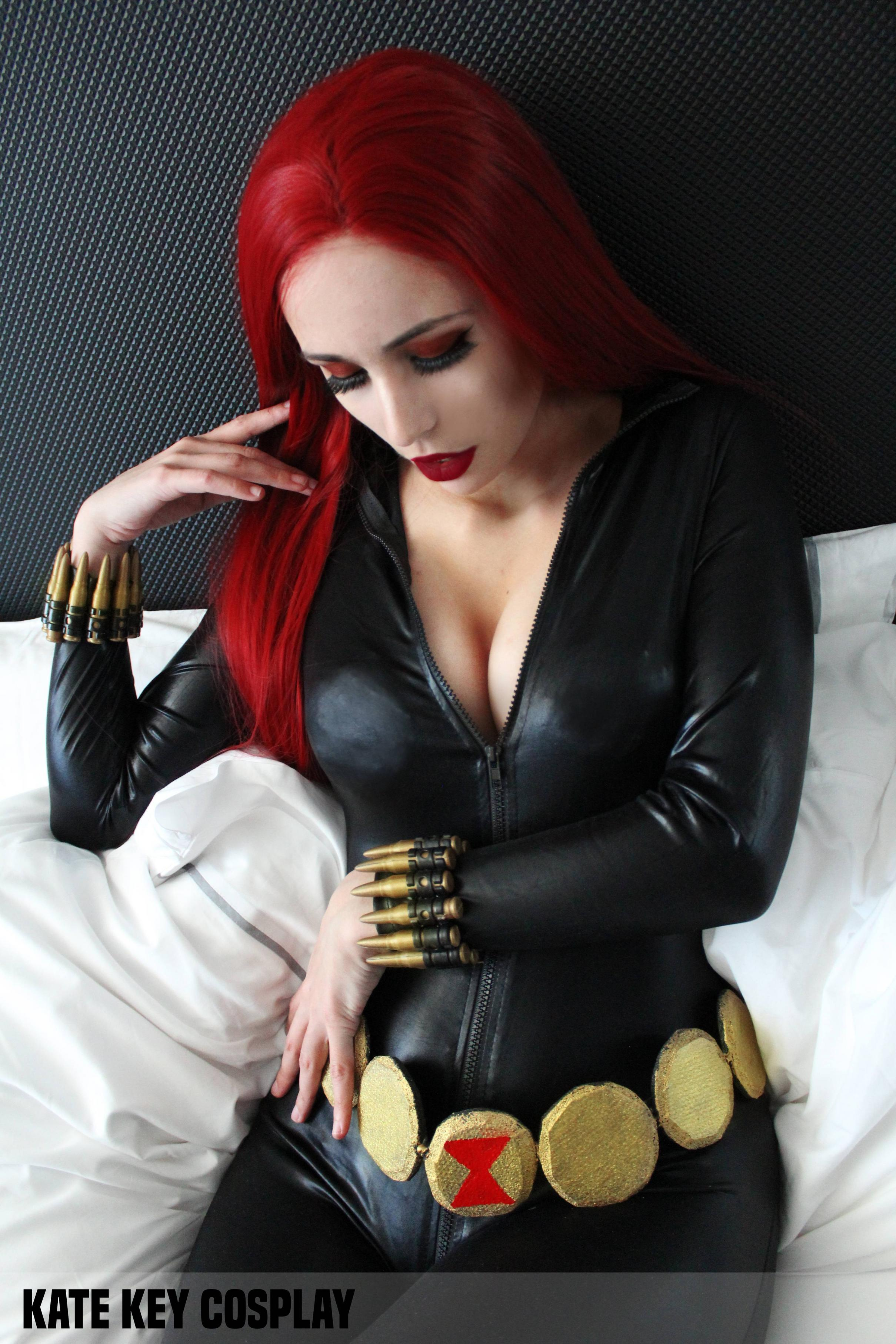 Black Widow From MARVEL By Kate Key
