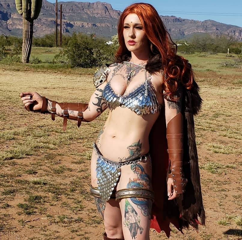 Red Sonja By Autumn Ivy