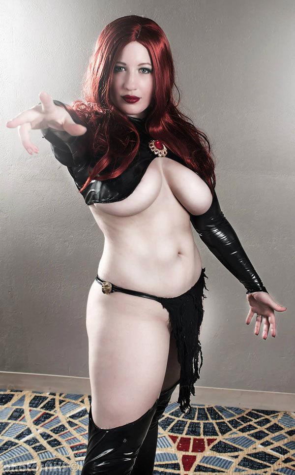 Belle Chere As The Goblin Queen