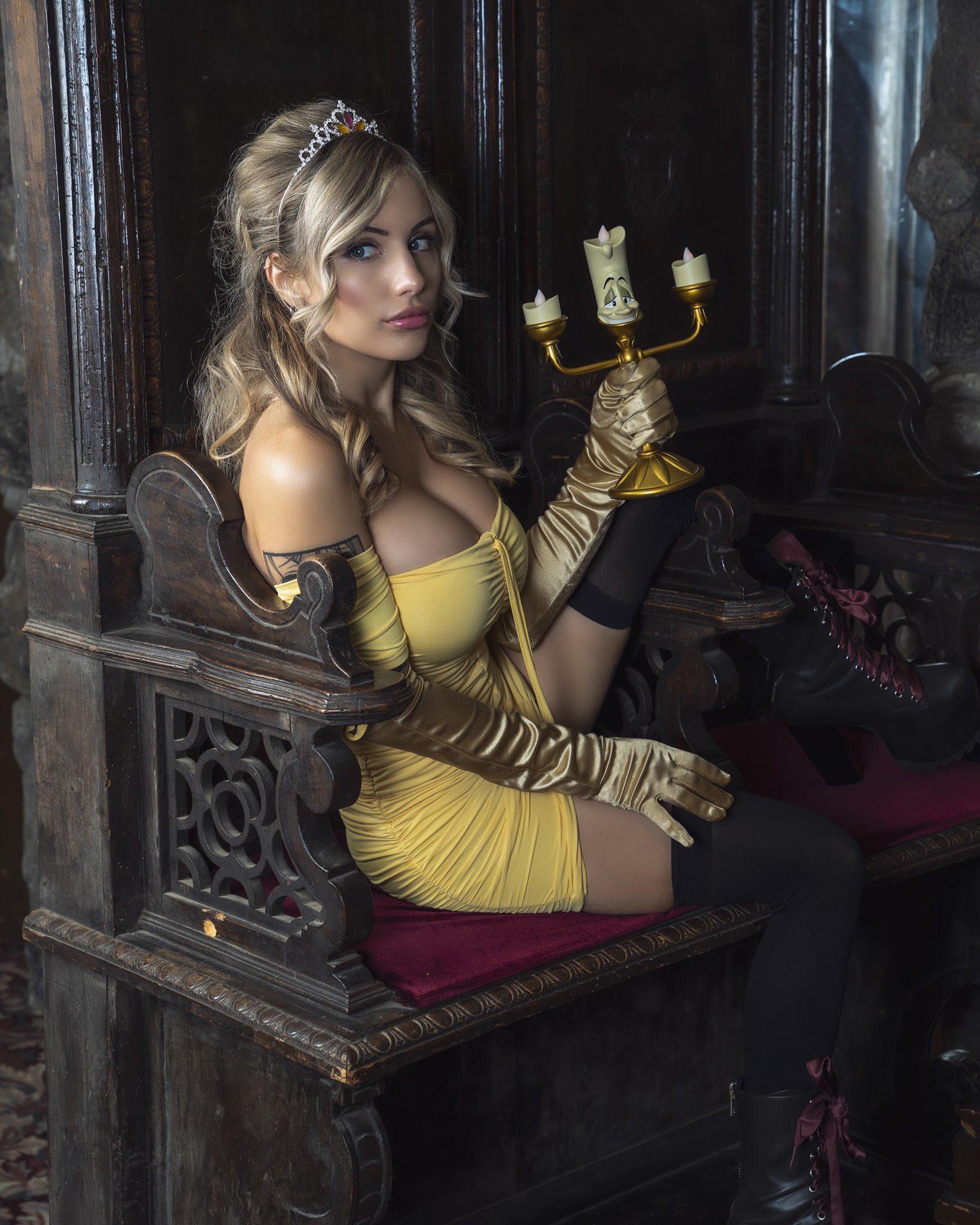 Liz Katz As Belle