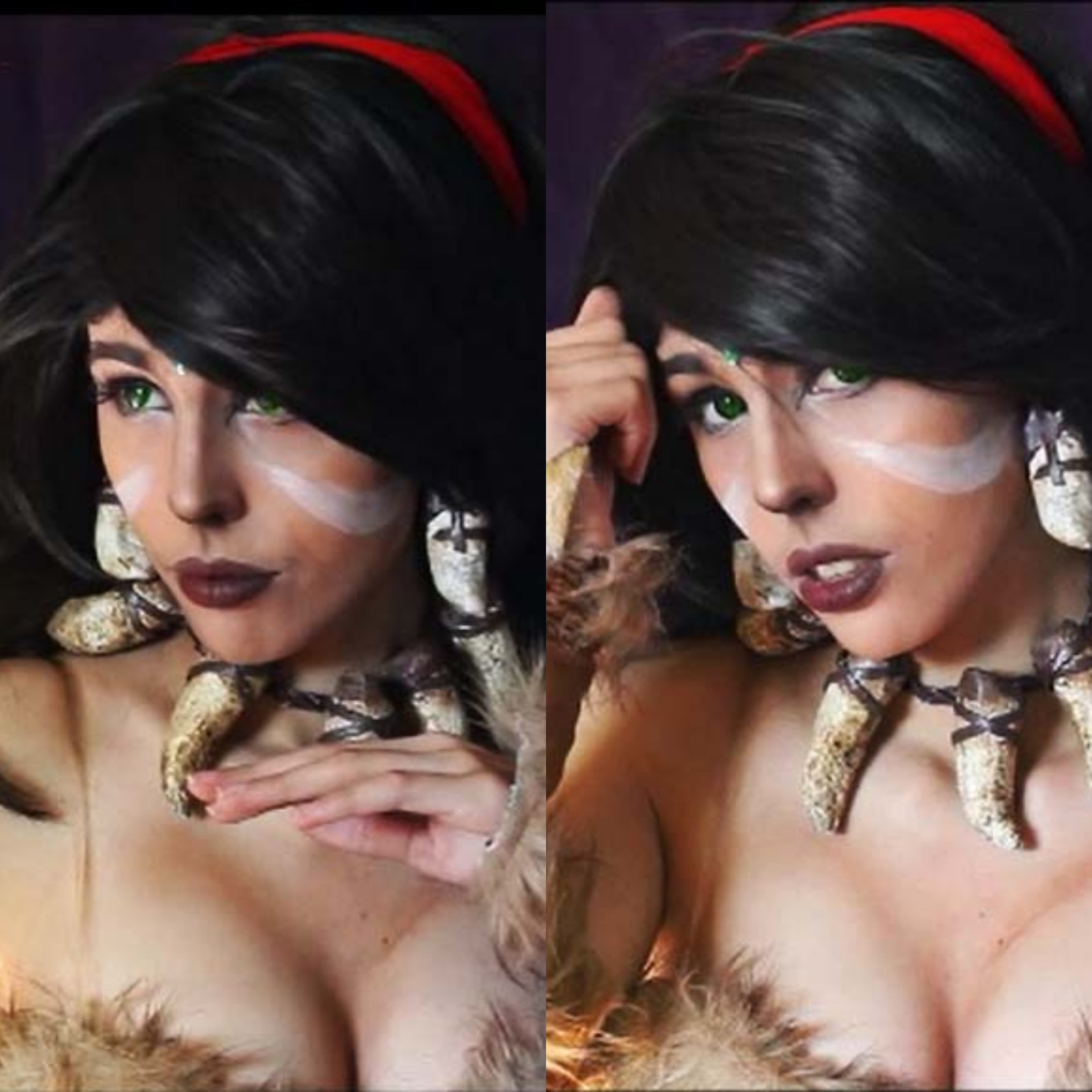 Nidalee From LoL- By Kate Key