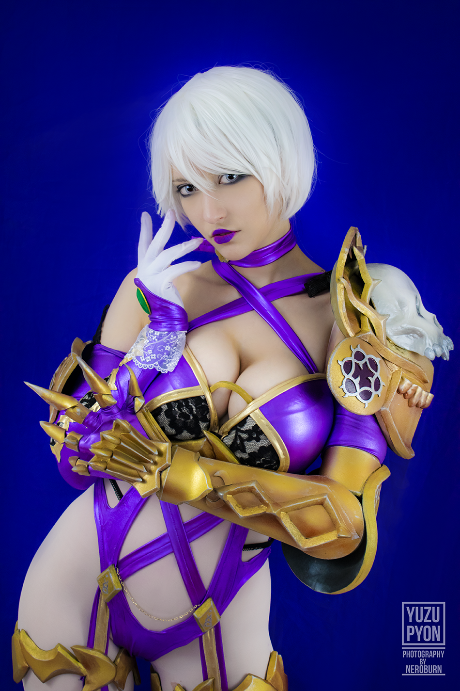 Ivy From Soul Calibur Series By Yuzupyon