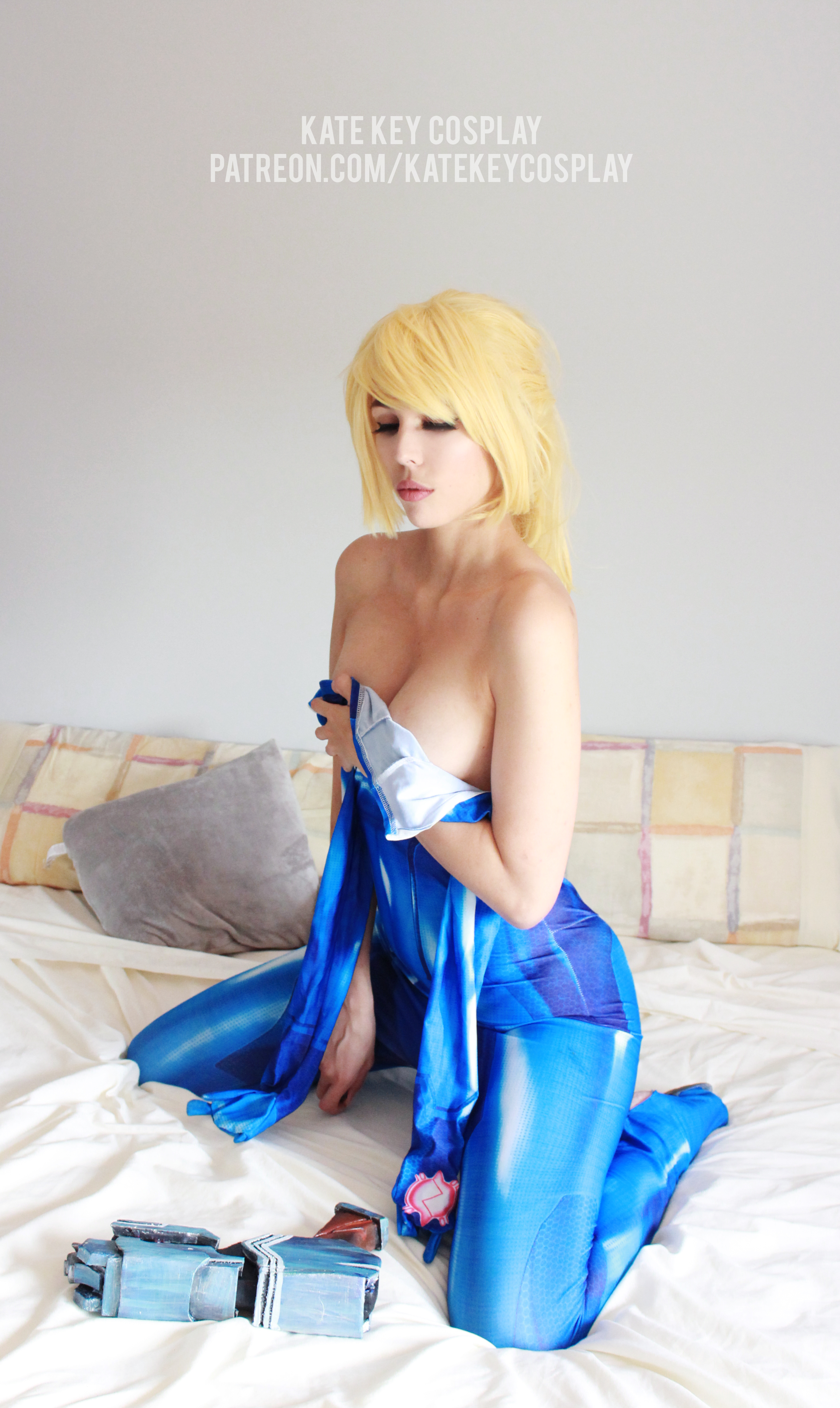 Samus Zero Suit – Erocosplay By Kate Key