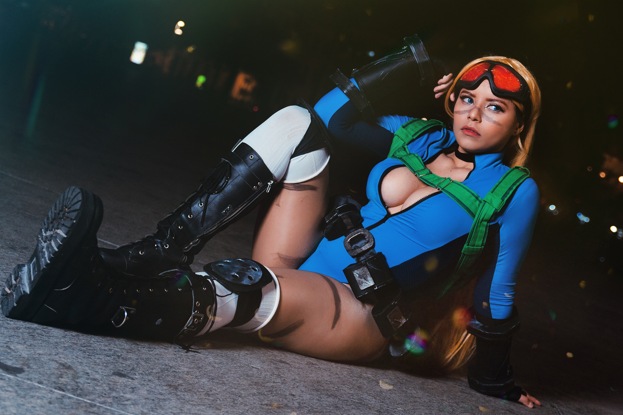 Cammy Cosplay By Nooneenonicos