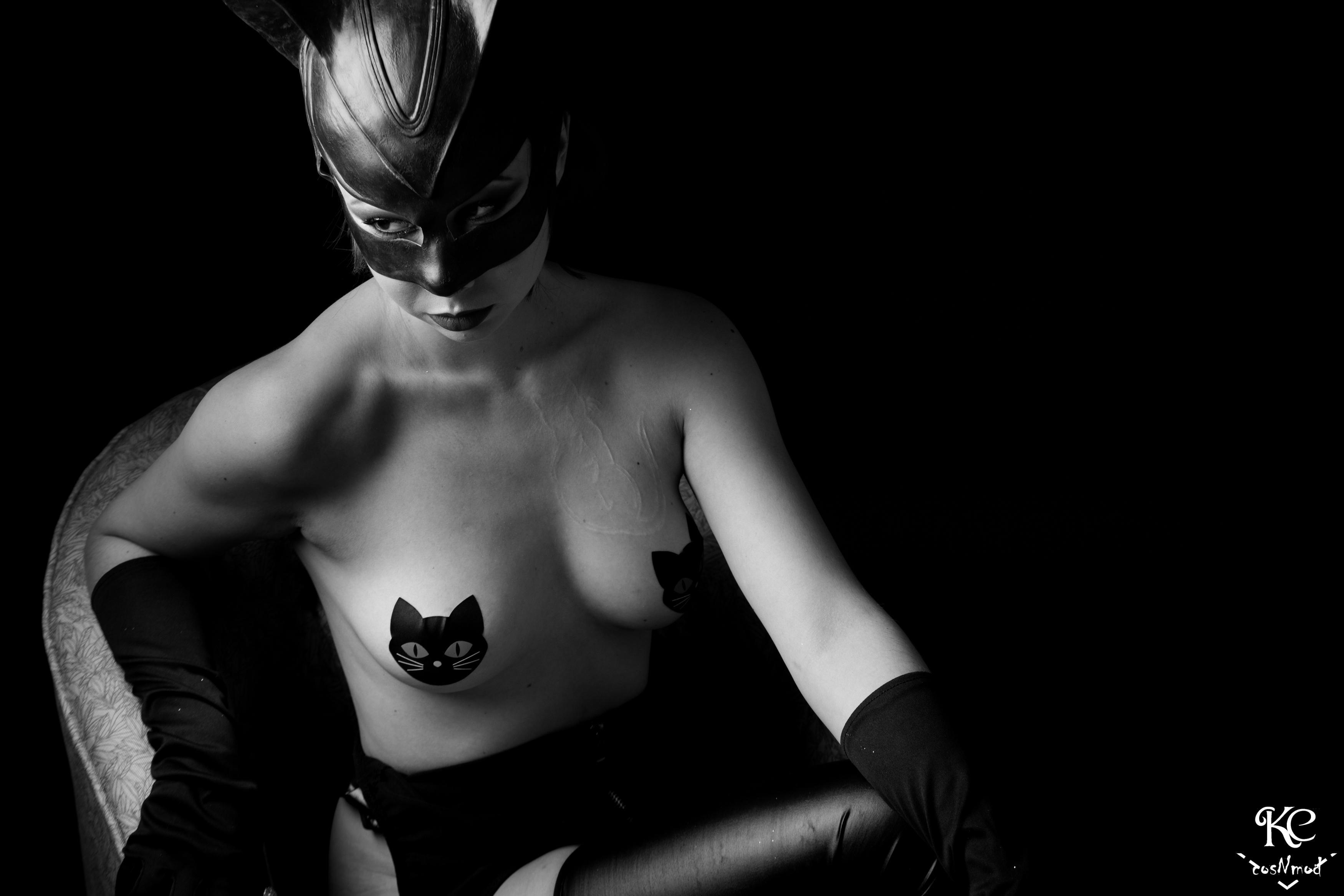 Catwoman Boudoir By Kyoki_Cos