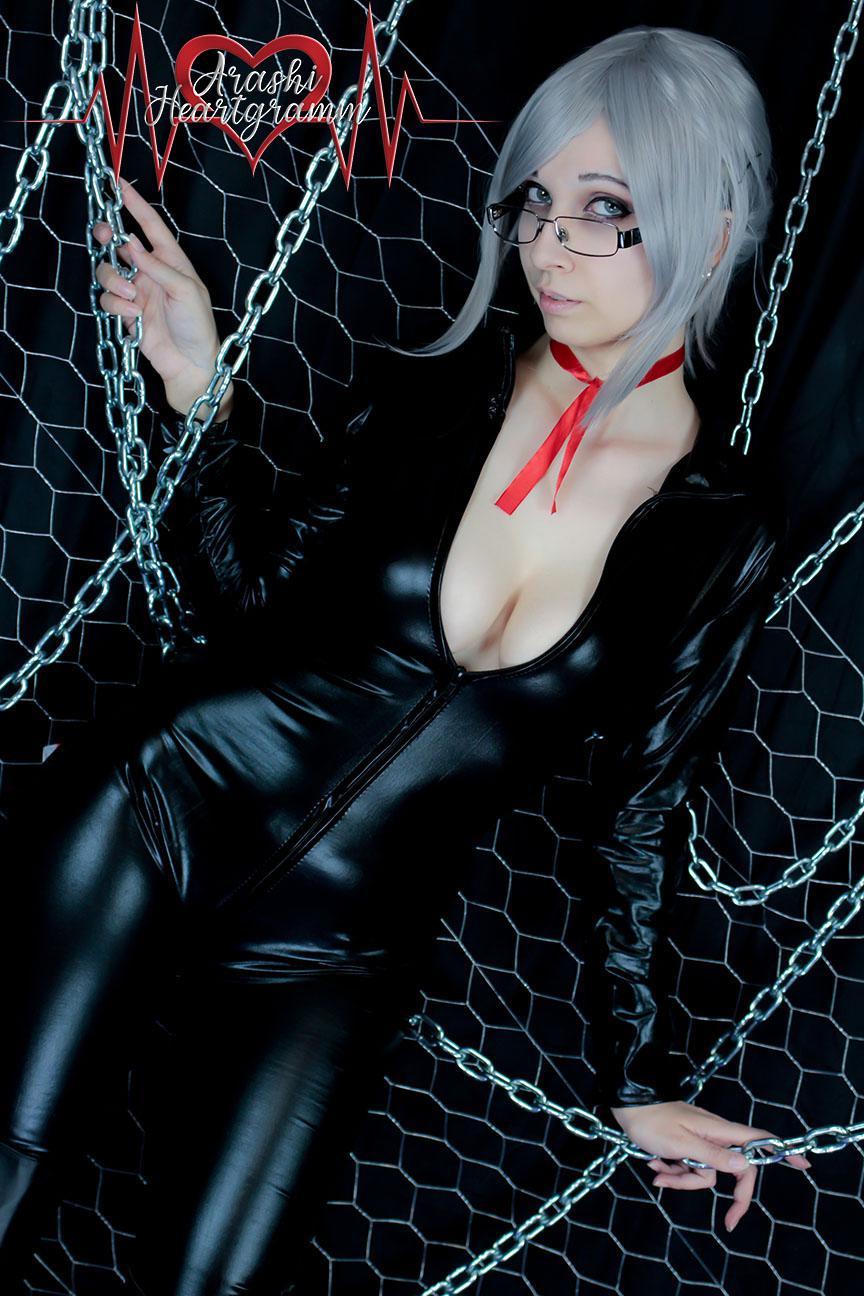 Meiko Shiraki PVC Suit From Prison School By ArashiHeartgramm