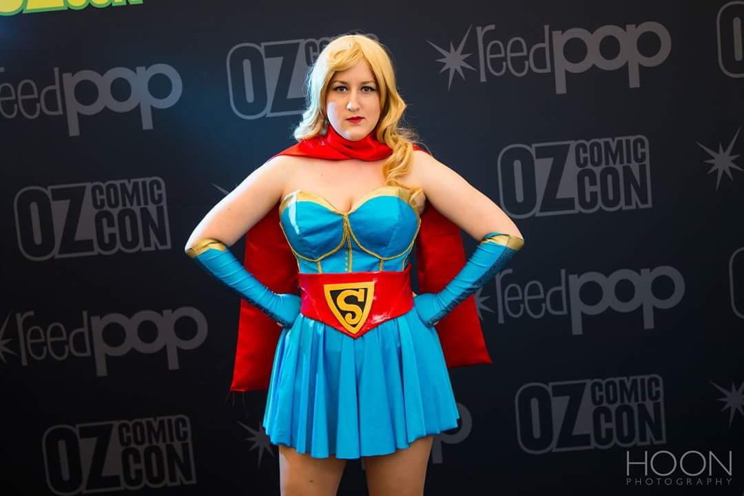 PrincessJazzCosplay As Bombshells SuperGirl