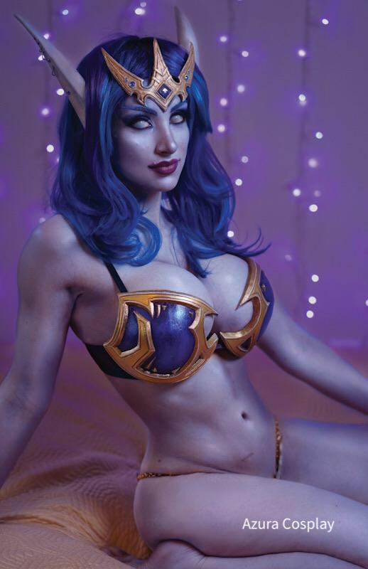 Void Elf From World Of Warcraft – By AzuraCosplay