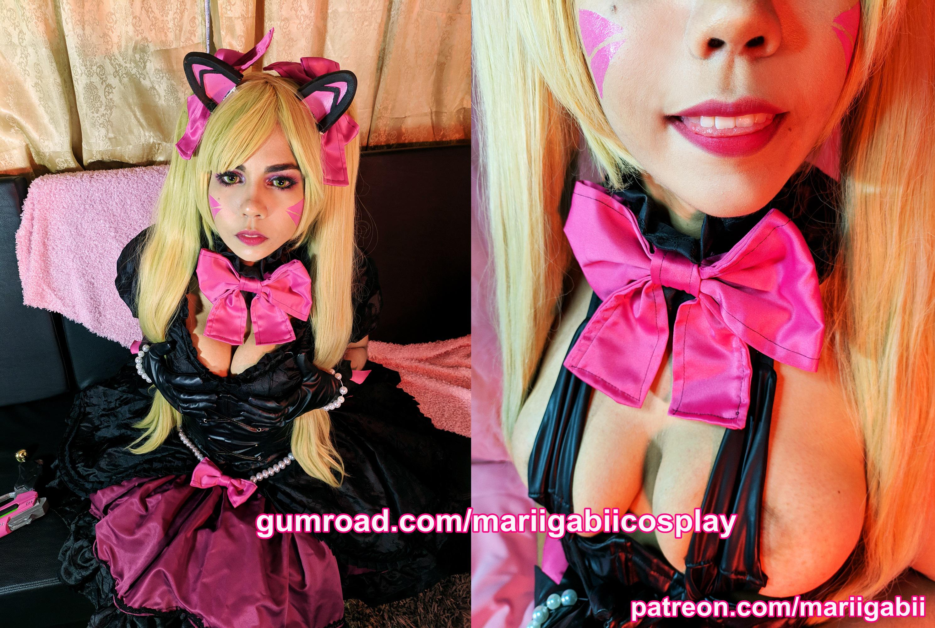 Black Cat D.va – Mariigabii Cosplay