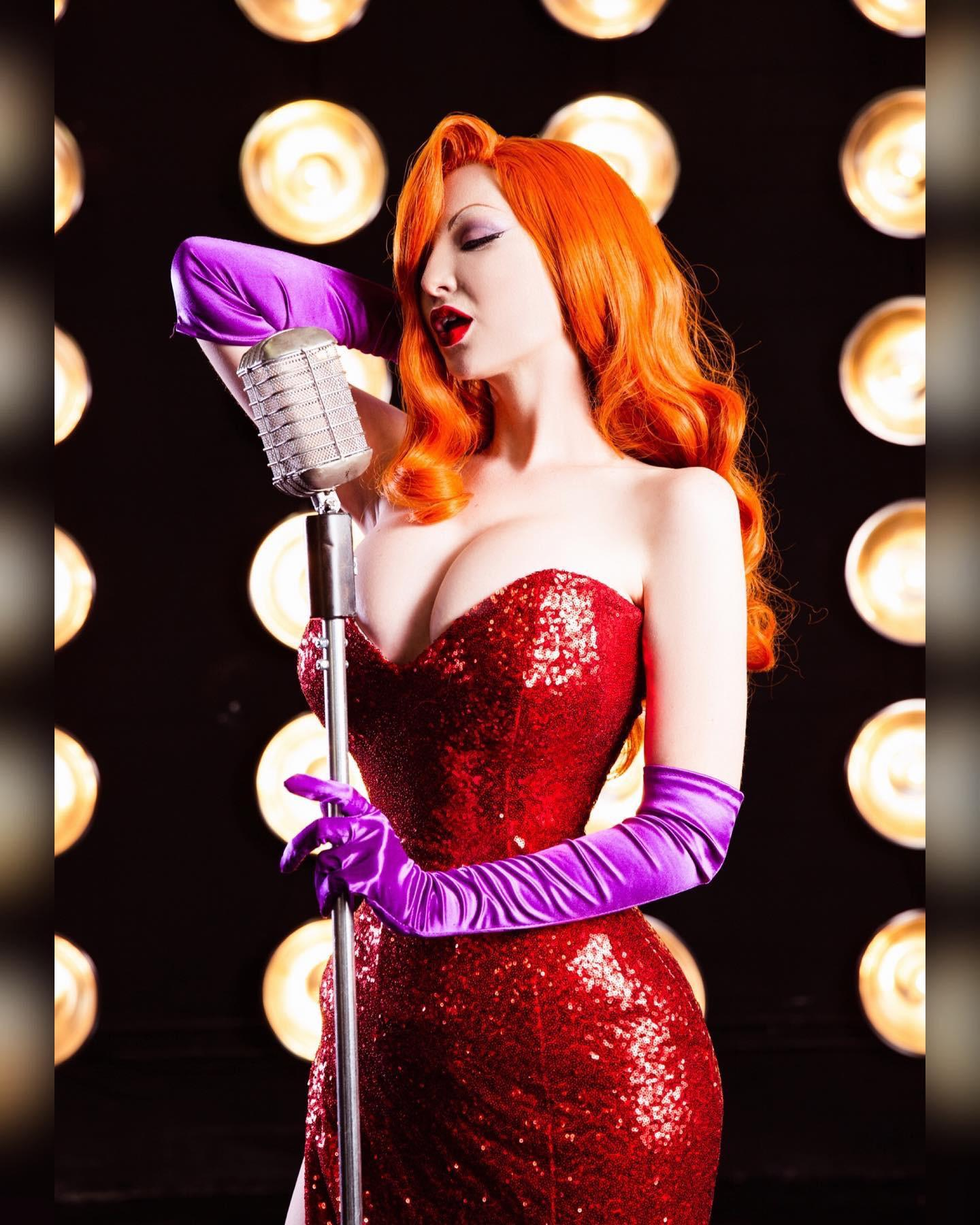 Jessica Rabbit By Ashlynne Dae