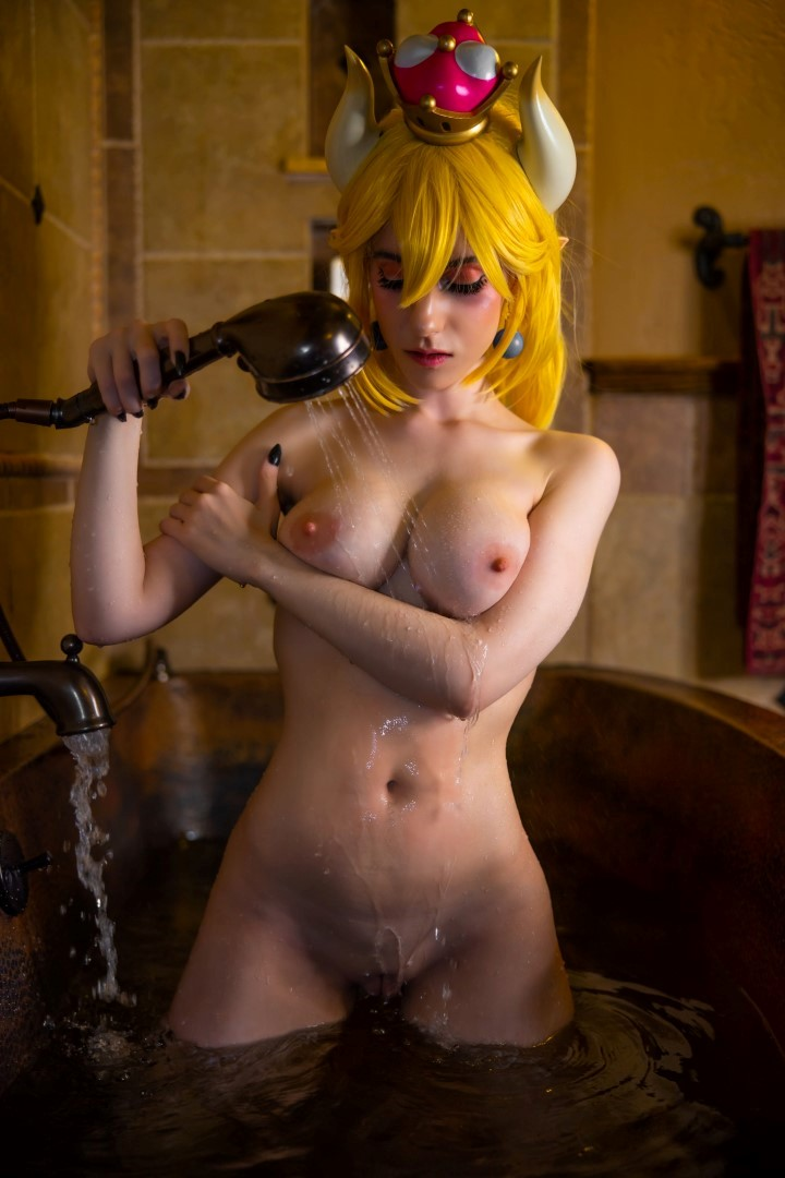 Lana Rain Nude Bowsette